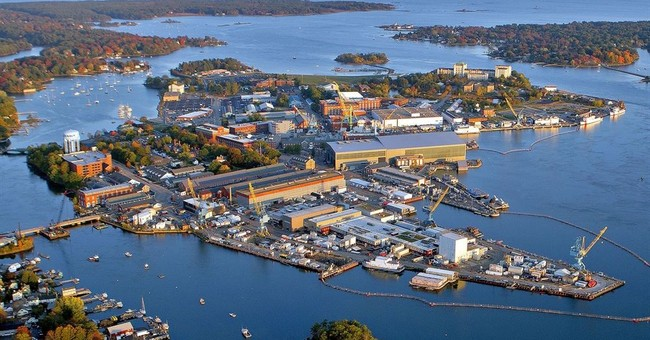 History and tech co-exist at Navy's oldest public shipyard